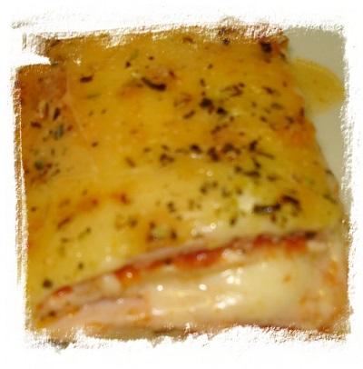 Lasaña de pechuga de pollo (plato principal navidad) 2