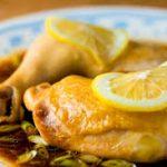 Pollo a la limón